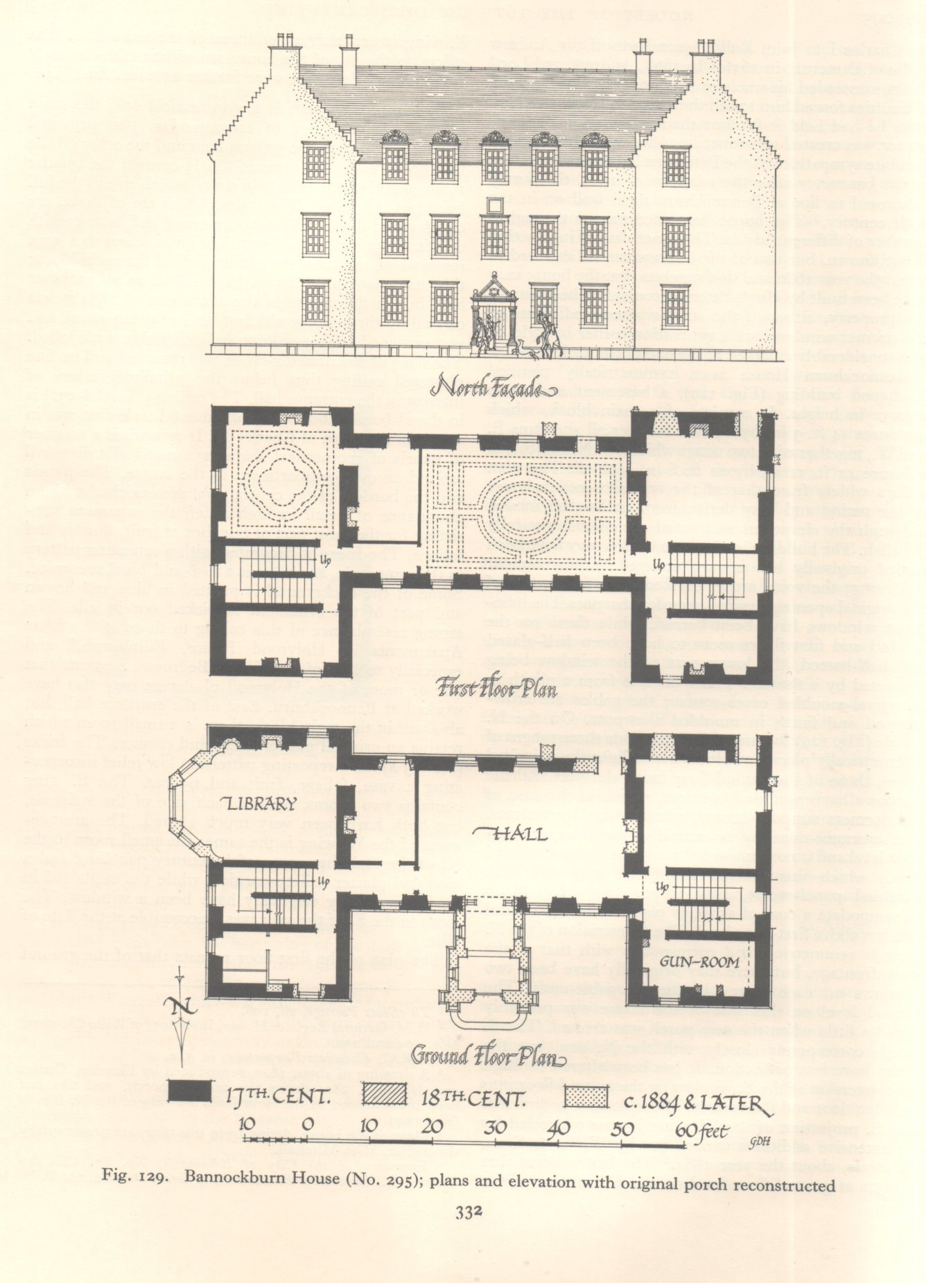 18th century house plans for Century homes floor plans
